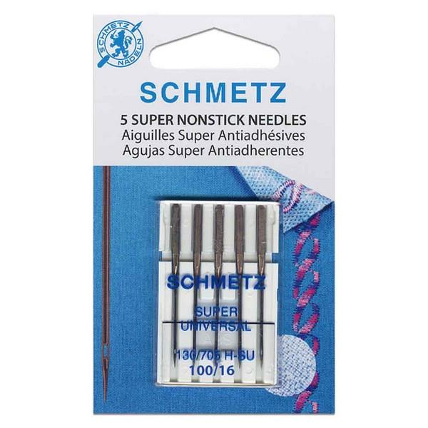 Schmetz Super Nonstick Needles 100/16 available in Canada at The Quilt Store