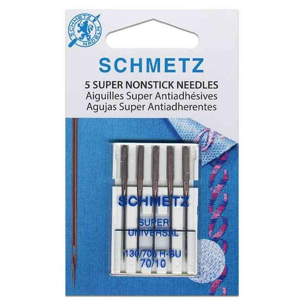 Schmetz Super Nonstick Needles 70/10 available in Canada at The Quilt Store