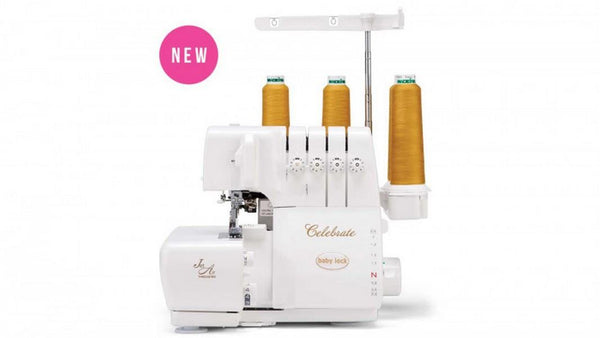 Baby Lock Celebrate Serger available in Canada at The Quilt STore