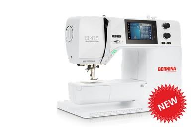 Bernina 475 QE available in Canada at The Quilt Store