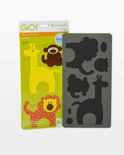Accuquilt GO! Zoo Animals available in Canada at The Quilt Store