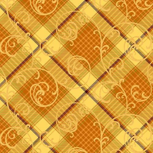 Autumn Time Orange Plaid available in Canada at The Quilt Store