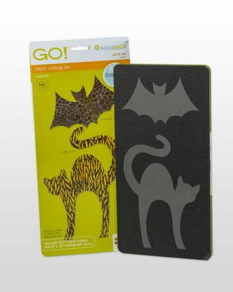 GO! Cat & Bat Die available in Canada at The Quilt Store