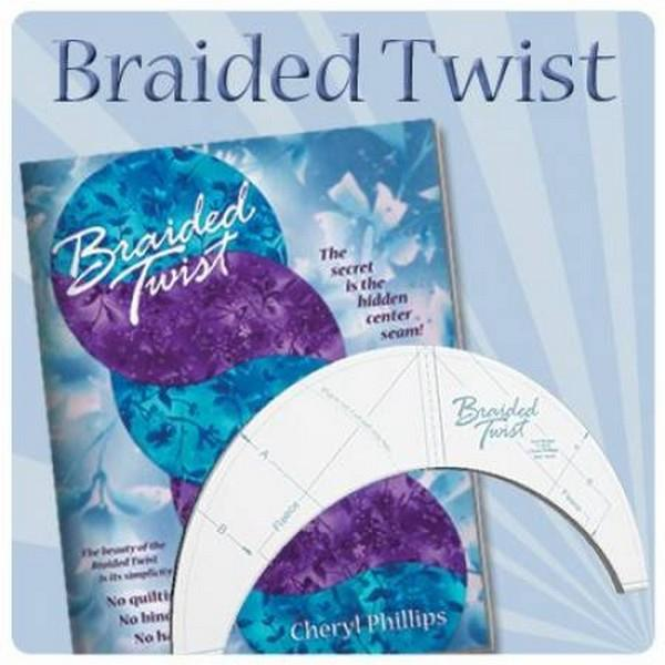 Braid Twist Template available in Canada at The Quilt Store