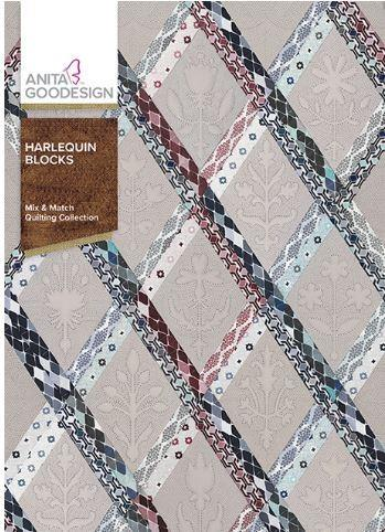 Anita Goodesign Harlequin Blocks available in Canada at The Quilt Store