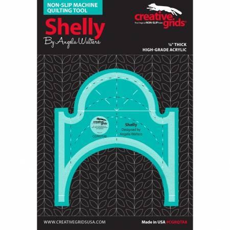 Creativ Grids Machine Quilting - Shelly Ruler available at The Quilt Store in Canada