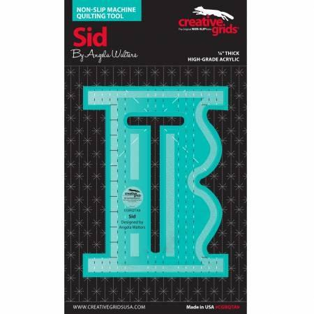 Creativ Grids Machine Quilting Ruler - Sid available at The Quilt Store in Canada