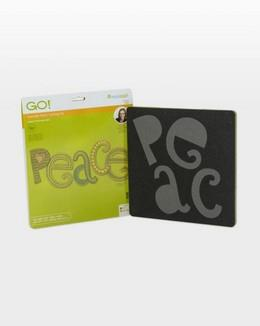 GO! Peace accuquilt die available in Canada at The Quilt Store