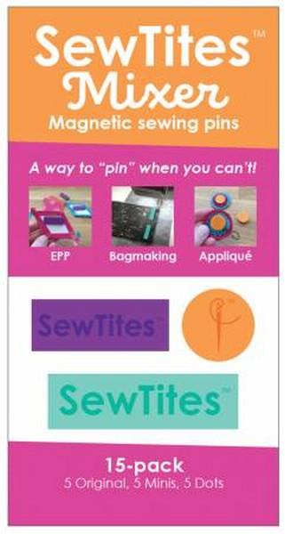 Sew Tites Mixers Magnetic Pins  available in Canada at The Quilt Store