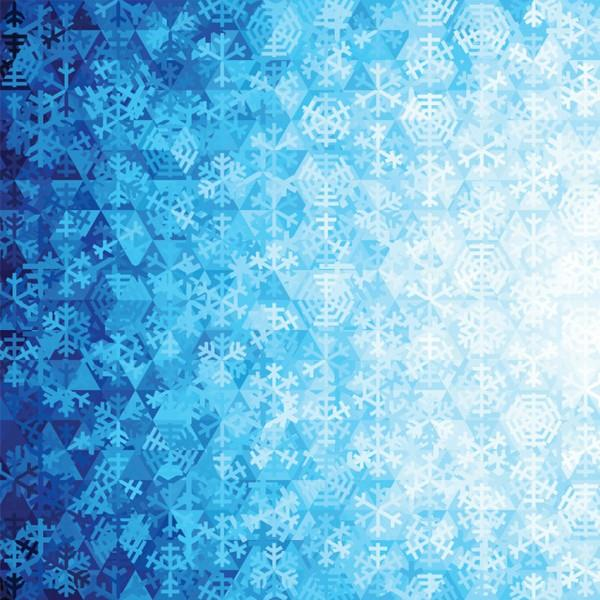 Gradients Holiday Snowflakes available in Canada at The Quilt Store