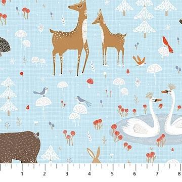 Winterland Animal Toss available in Canada at The Quilt Store