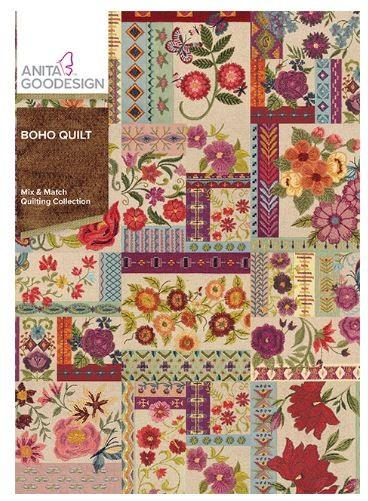 Anita Goodesign Boho Quilt available in Canada at The Quilt Store