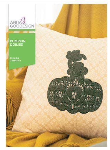 Anita Goodesign Pumpkin Doilies available in Canada at The Quilt Store