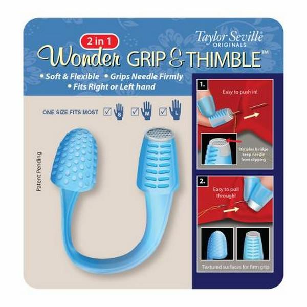 Wonder Grip and Thimble by Taylor Seville Originals available in Canada at The Quilt Store