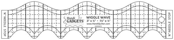 Handi Quilter Wiggle Wave Ruler available at The Quilt Store in Canada
