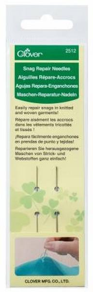 Clover Snag Repair Needles available at The Quilt Store