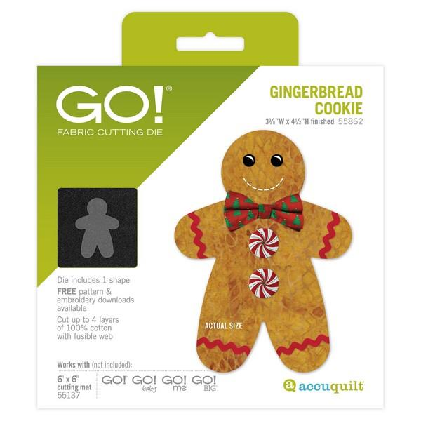 GO! Gingerbread Cookie die available in Canada at The Quilt Store
