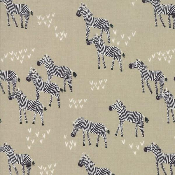 Safari Life Zebras by Stacy Iest Hsu for Moda