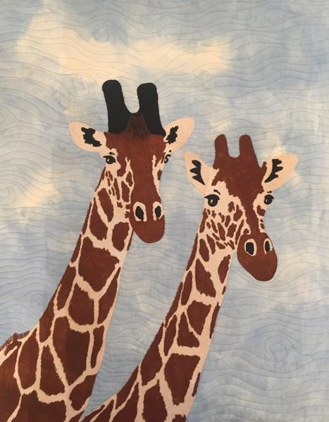 Giraffe Duo Pattern by Sue Sherman available in Canada at The Quilt Store