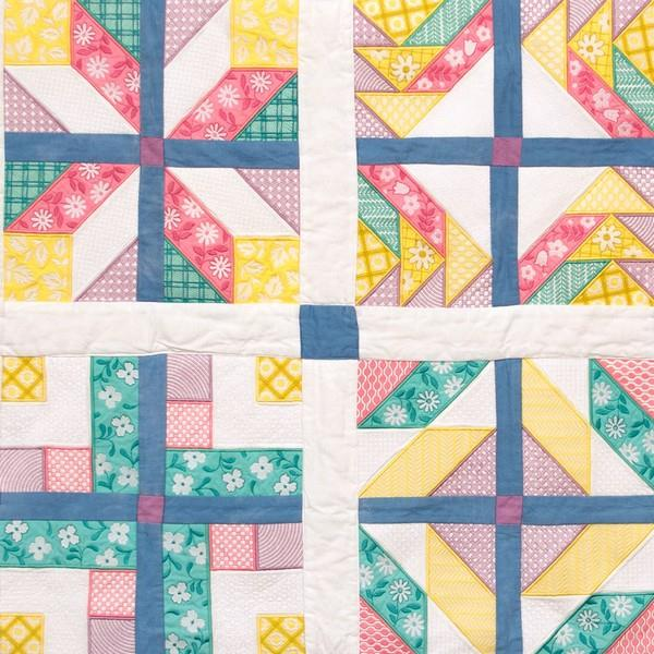 OESD Bell Patchwork Sampler