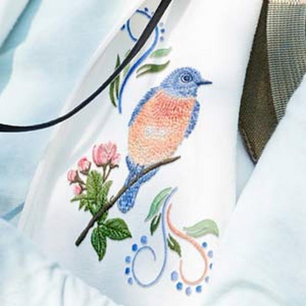 OESD Bluebird Gathering by Jackie Robinson available in Canada at The Quilt Store
