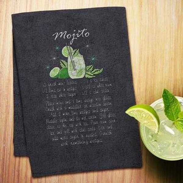 OESD Cocktail Recipe Towels