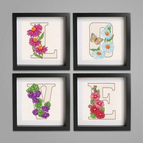 OESD Floral Alphabet by Krista Hamrick