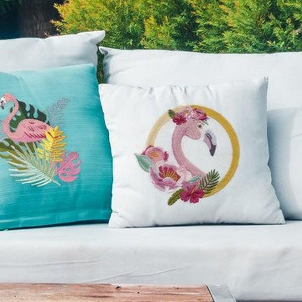 OESD Floral Flamingo Collection by Scissortail Stitches