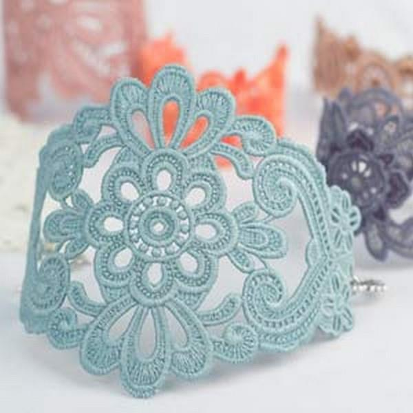 OESD Freestanding Lace Bracelets and Cuffs