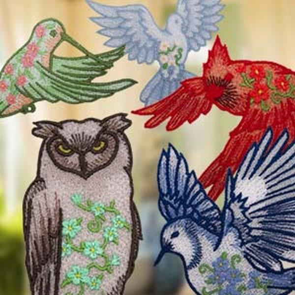 OESD Freestanding Lace Ornate Birds