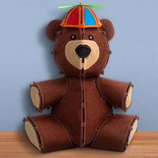 OESD Freestanding Teddy Bear