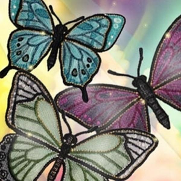 OESD Luminous Freestanding Butterflies