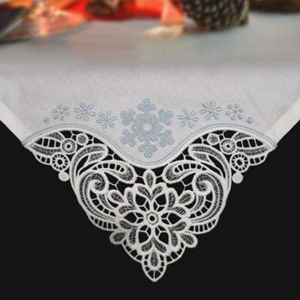 OESD Winter Tablecloth & Napkin Corners