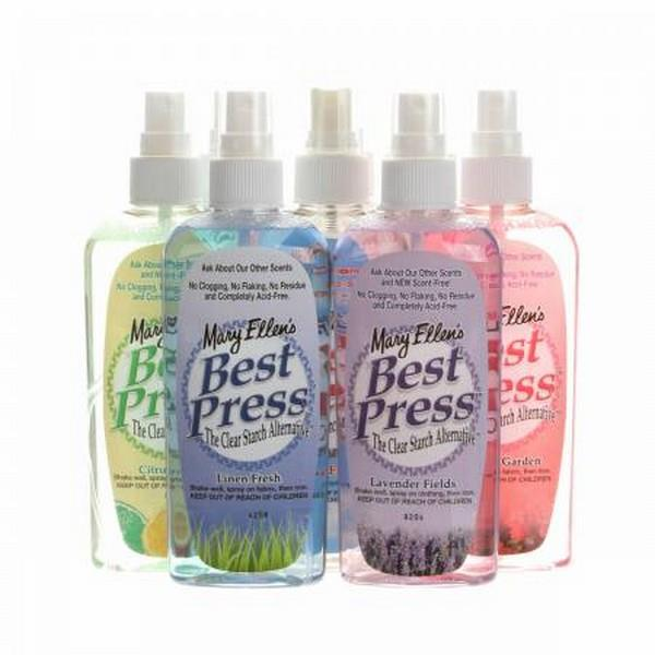 Mary Ellen's Best Press 177 ml available in Canada at The Quilt Store