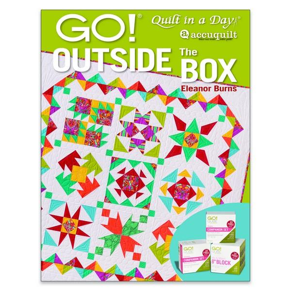 GO! Outside the Box by Eleanor Burns available in Canada at The Quilt Store