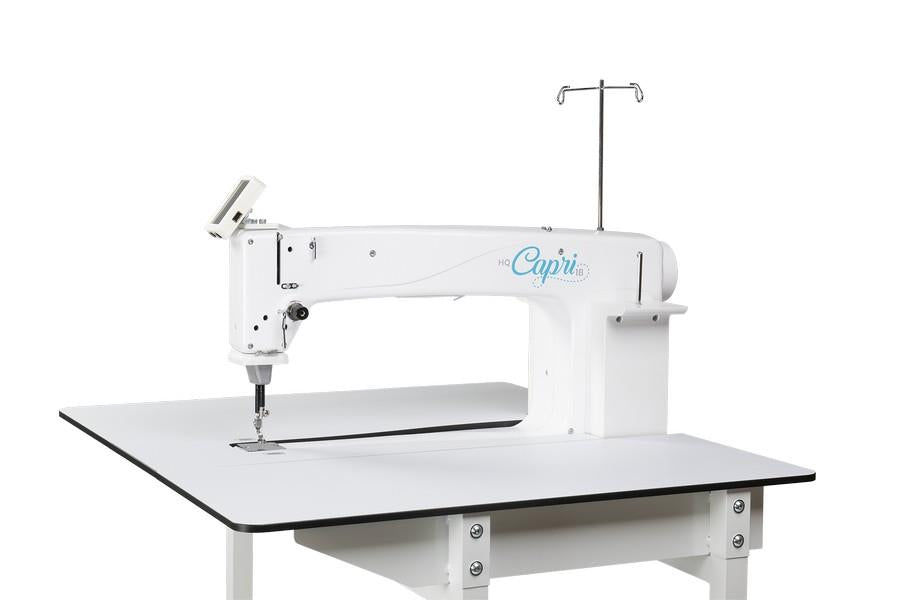 "Handi Quilter Capri 18"" Sit down with InSight Table available in Canada at The Quilt Store"