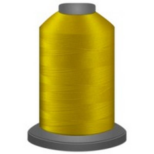 GLIDE Trilobal Polyester No. 40 - Bright Yellow available in Canada at The Quilt Store