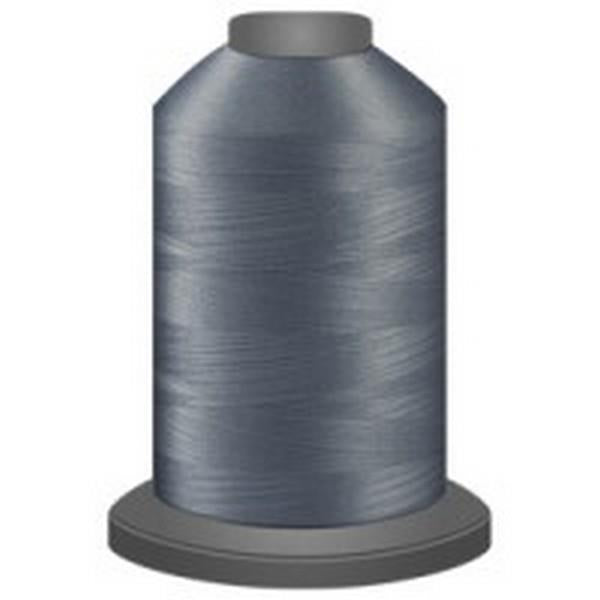 GLIDE Trilobal Polyester No. 40 Silver available in Canada at The Quilt Store
