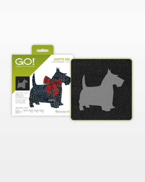 Accuquilt GO! Scottie Dog Die available in Canada at The Quilt Store