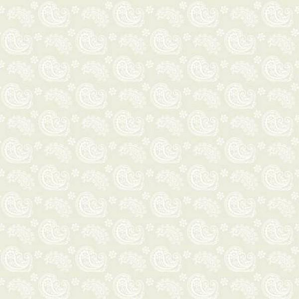 Cookie Dough Paisley Cream By Wilmington Fabrics available in Canada at The Quilt Store