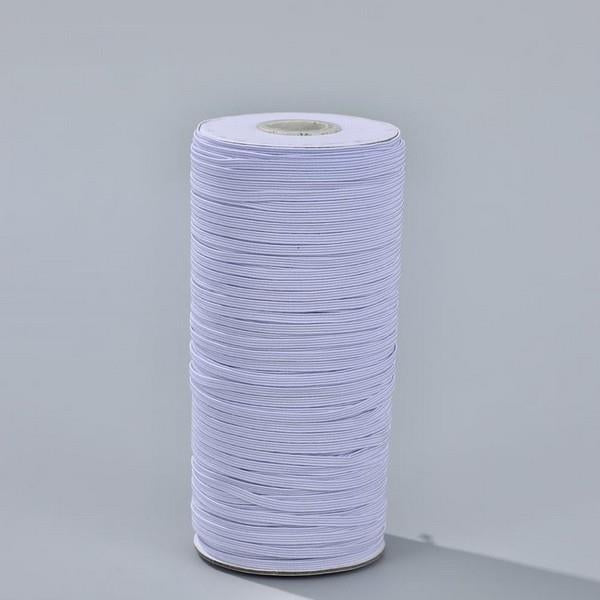 "1/8"" Braided Elastic available at The Quilt Store in Canada"