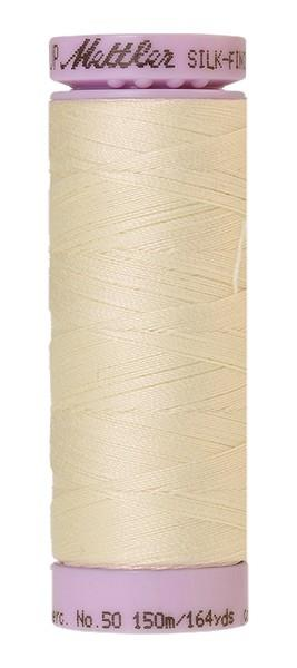 Mettler 100% Cotton Thread Silk-Finish available in Canada at The Quilt Store