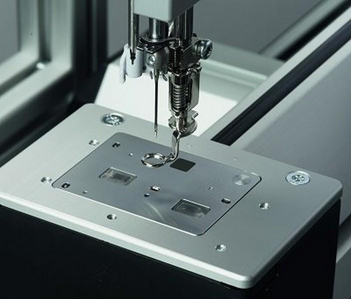 Bernina Q20 Stitch Plate for Twin Needles available in Canada at The Quilt Store