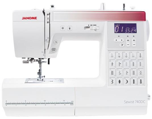 Janome Sewing Machine 740DC