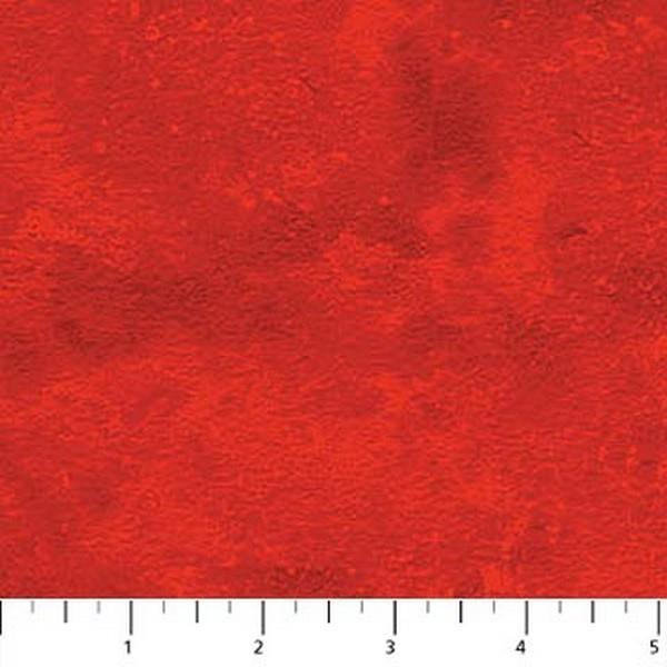 Toscana Bright Red by Northcott available in Canada at The Quilt Store