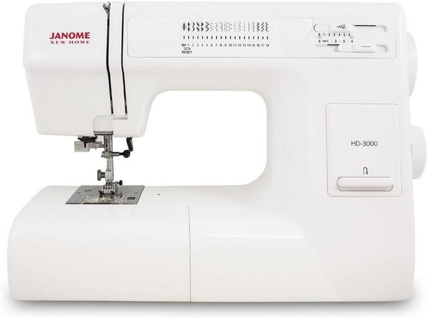 Janome HD-3000 avaialble at The Quilt Store