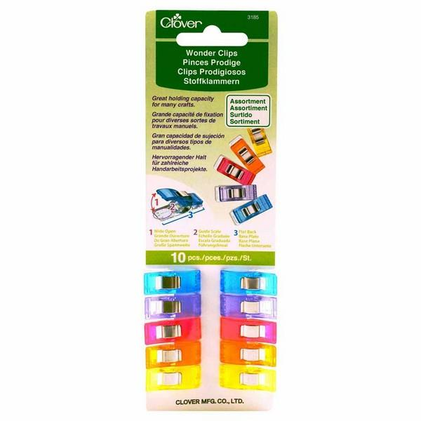 Clover Wonder Clips Assorted