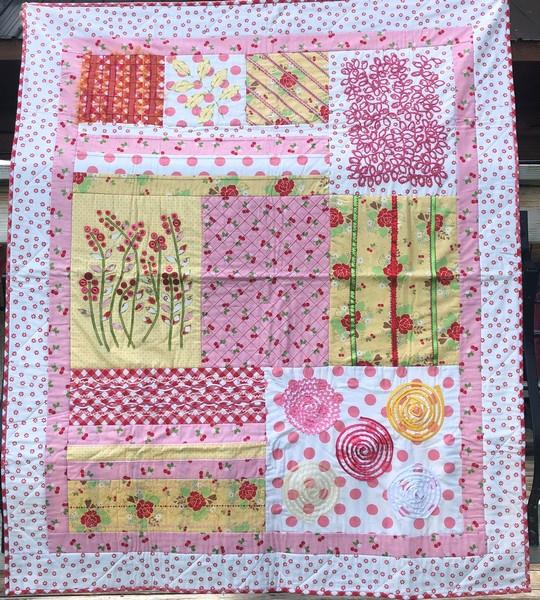 Riley Blake Sampler Quilt at The Quilt Store in Canada