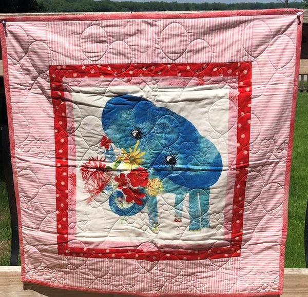 Baby Gone Wild Quilt available in Canada at The Quilt Store