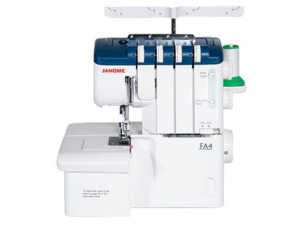 Janome FA4 available in Canada at The Quilt Store